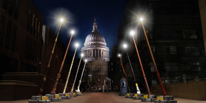 Giant Harry Potter Wands Will Light Up In Front Of St Paul's This Winter