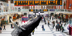 Huge Humpback Sculpture Coming To Liverpool Street Whale-Way Station