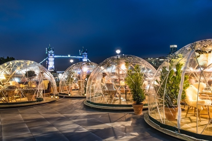 The winter igloos at Coppa Club: best festive pop-ups in London