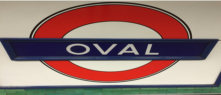 Oval roundel, squashed into an oval. Aren't we bloody clever, eh?