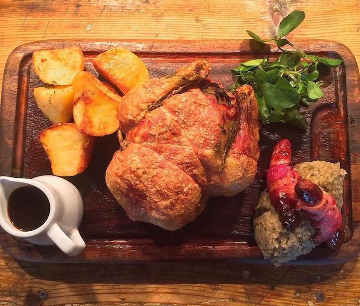 Roast dinner at The Crooked Well, Camberwell: the best Sunday roast and roast dinners in London