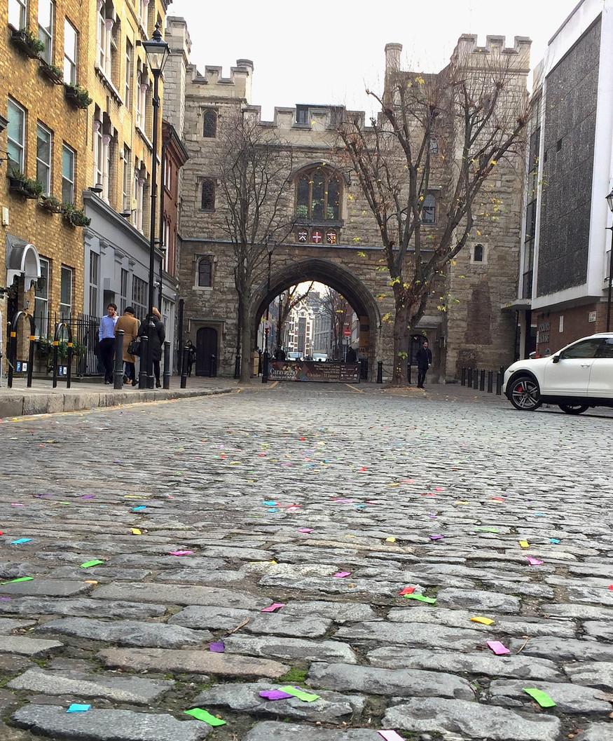 Gateway of St John's Priory, Clerkenwell, London