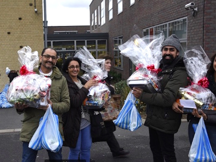 Basket Brigade charity Christmas volunteering in London