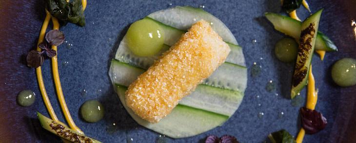 Vegetarian dining at Vanilla Black London