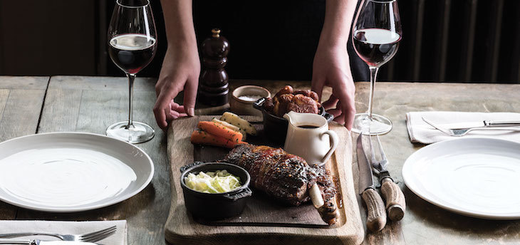 Roast dinner at The Harwood Arms, Fulham: the best Sunday roast and roast dinners in London