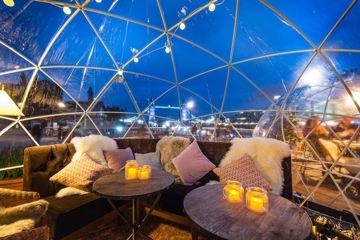 Where To Dine And Drink In An Igloo In London This Winter | Londonist