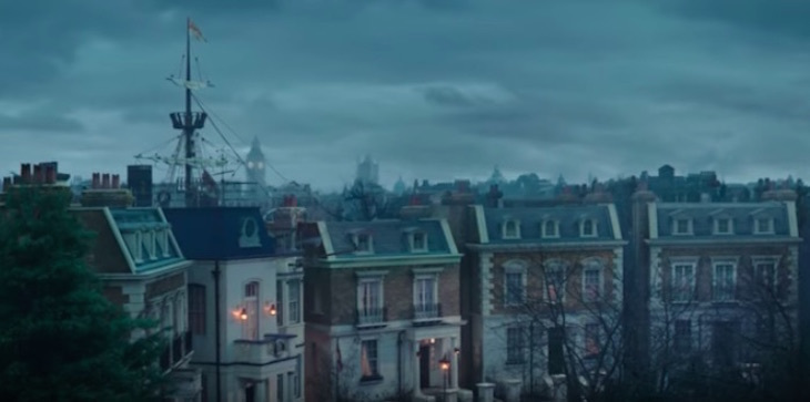 Teaser trailer of Mary Poppins Returns