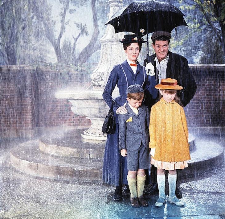 Mary Poppins original cast.