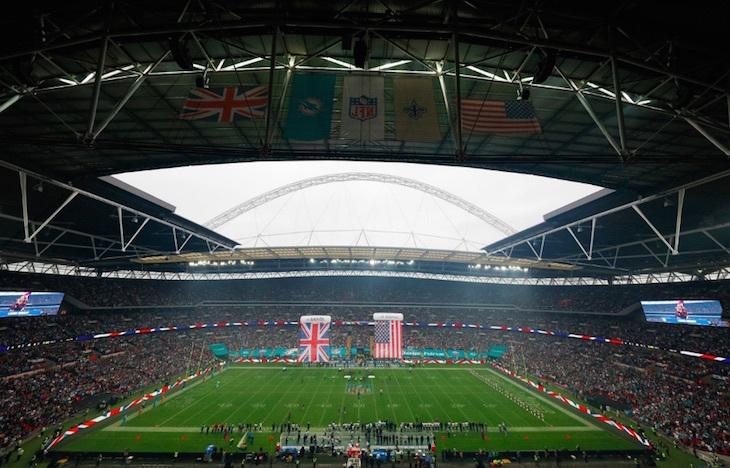 NFL in London Wembley Stadium