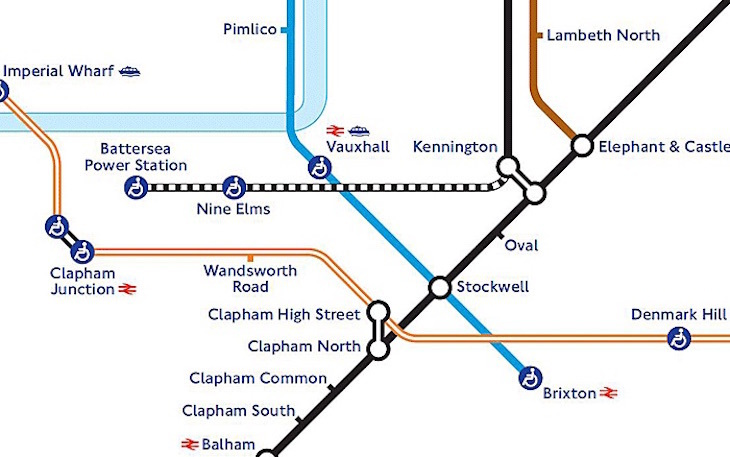 Northern line extension route map TfL