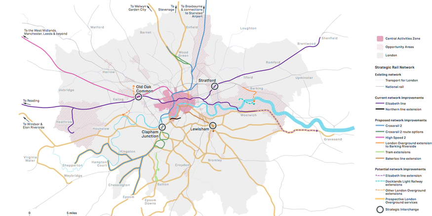 Transport For London Map.A Look At The Future Of London S Transport Londonist