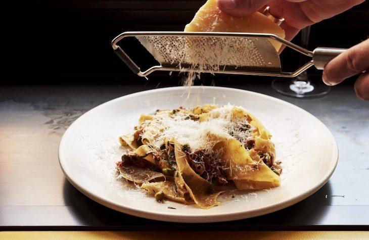 Vegetarian pasta dishes at Palatino London