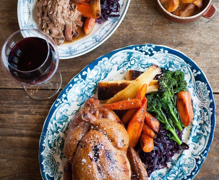 Roast dinner at The Princess of Shoreditch: the best Sunday roast and roast dinners in London
