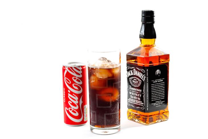 Jack Daniels and Coke