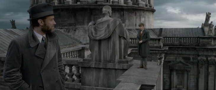 Fantastic Beasts: The Crimes of Grindelwald Trailer London filming locations St Paul's Cathedral