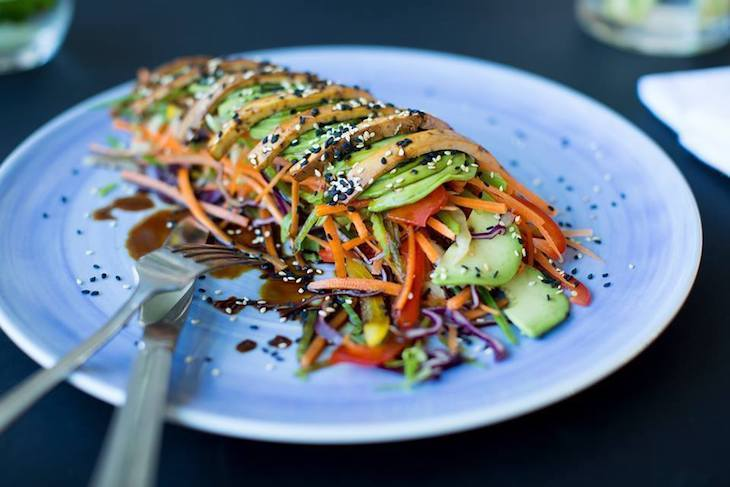 Vegetarian, vegan and healthy food at The Gate restaurant London