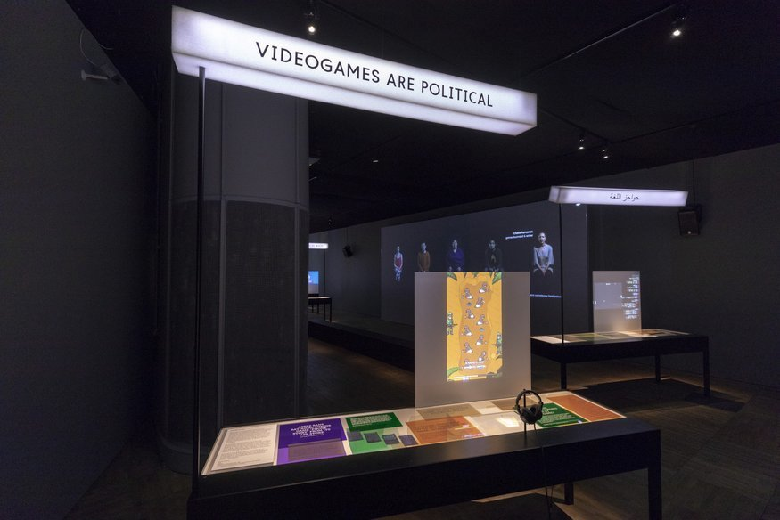 Video games exhibition at V&A 2018