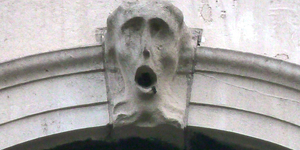 Ever Noticed This Screaming Face Near St Paul's?
