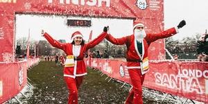 Join 3000 Santas At Great Ormond Street Hospital Children's Charity Festive Fun Run