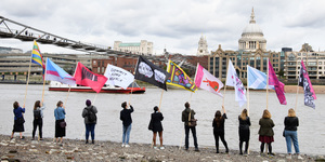 Own One Of These Raunchy Flags Currently Flying In Bankside