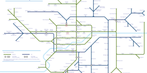 A Tube Map Of Every Waitrose And Lidl In London
