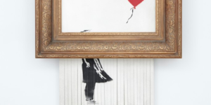 That Shredded Banksy Is Going On Public Display This Weekend