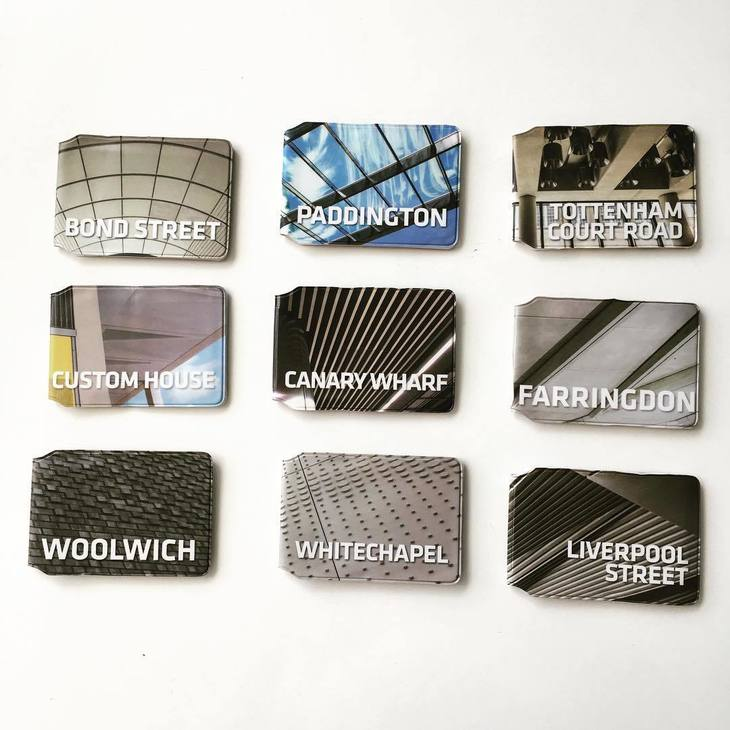 Crossrail Oyster Card holders