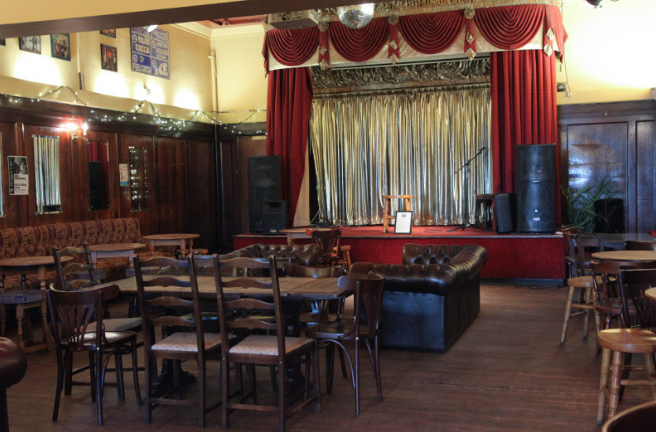 The Ivy House Nunhead function room