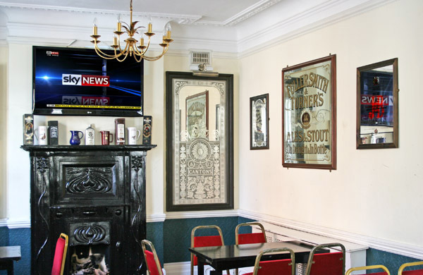 The King and Queen Fitzrovia function room