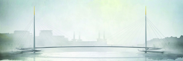 New Nine Elms Pimlico Bridge design