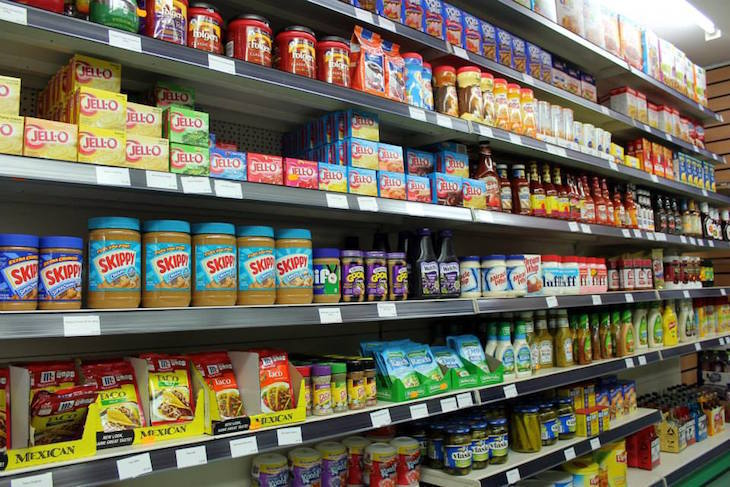 Best American food store and shop in London: American Food Store in Ladbroke Grove