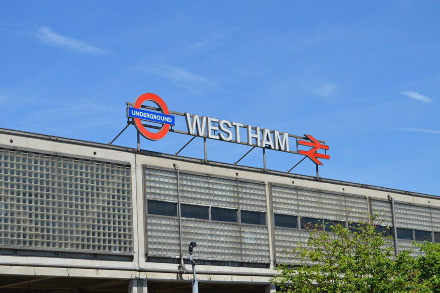 West Ham station.