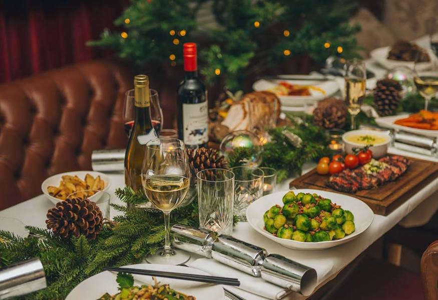 Christmas Day at Asia de Cuba: where to eat Christmas dinner in London on Christmas Day 2018