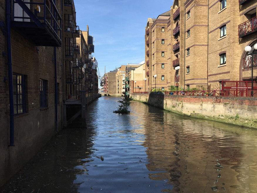 River Neckinger in Bermondsey.