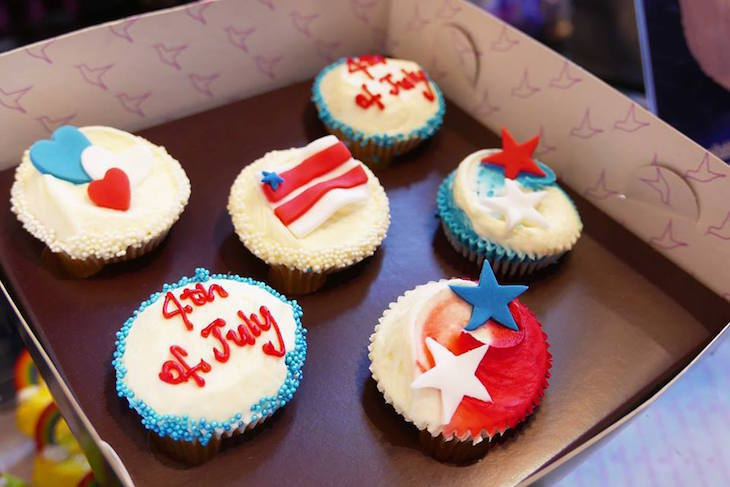 Best American baked good in London: Hummingbird Bakery