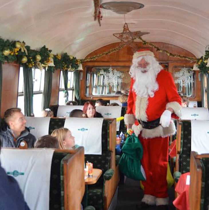Santa Specials on the Spa Valley Railway: things to do in Kent at Christmas