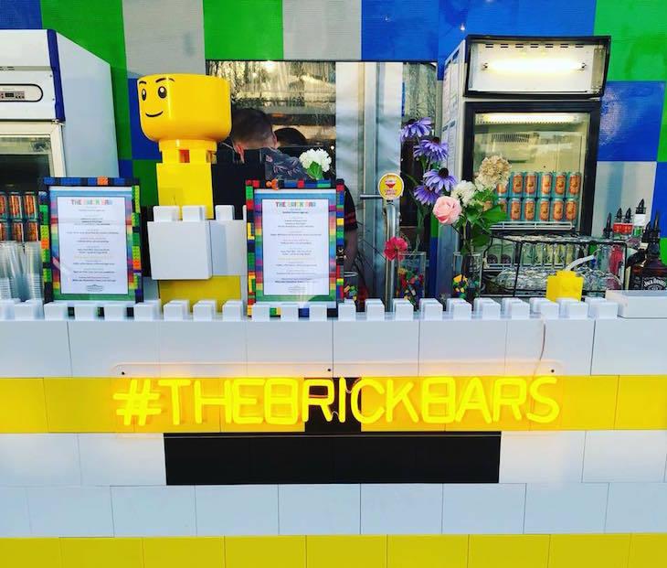Brick Bars Lego bar opening in Shoreditch London April 2019