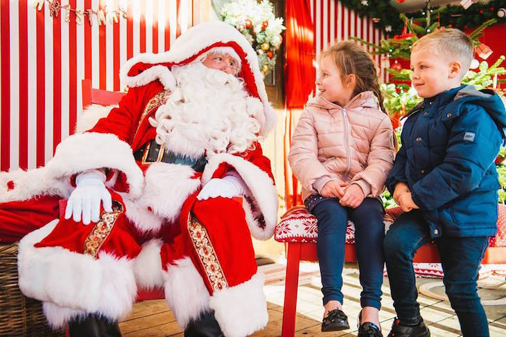 Meet Father Christmas at Hyde Park Winter Wonderland: best Santa's grottos in London 2019