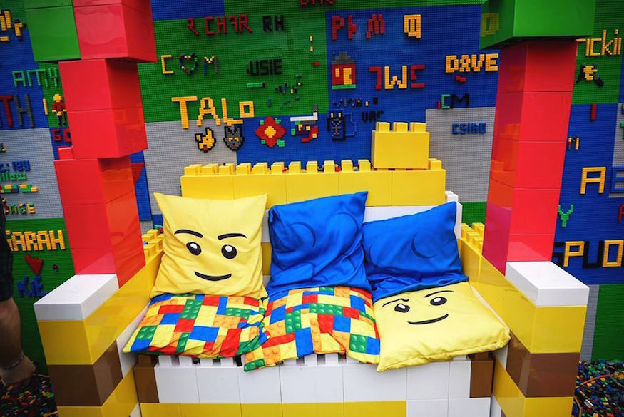 Brick Bars Lego bar opening in Shoreditch London April 2019