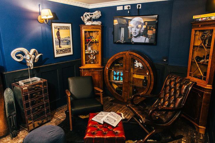 Little Blue Door Fulham Halloween Supperclub - Halloween food and drink in London