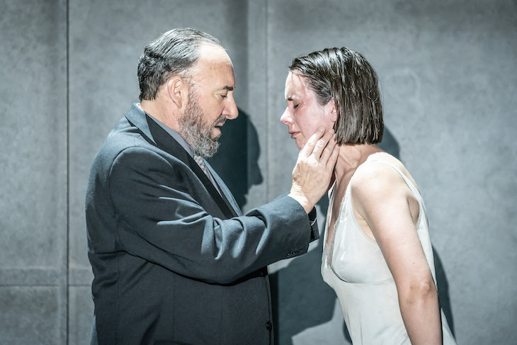 Antony Sher and Kate O'Flynn in Pinter One at Harold Pinter Theatre