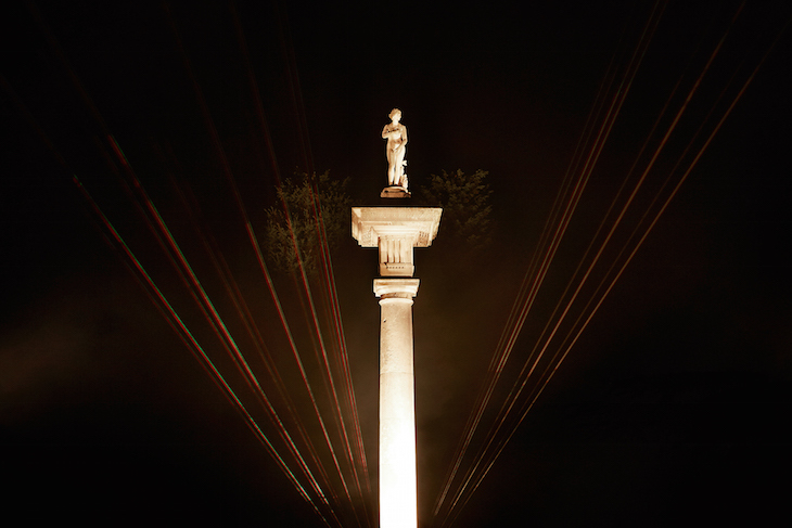 Chiswick House After Dark: light festivals in London, winter 2018