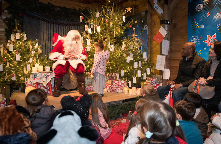 Santa's Grotto at Christmas in Leicester Square: best Santa's Grottos in London, Christmas 2018