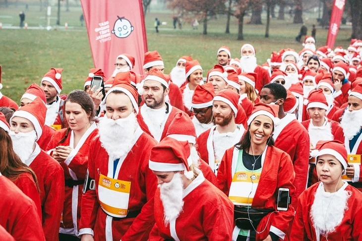 GOSH London Santa Dash
