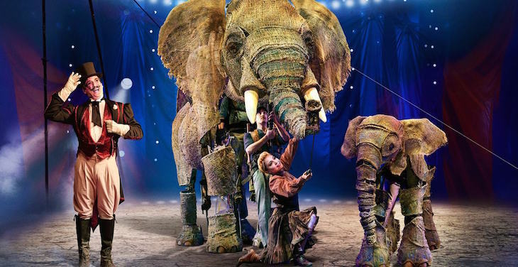 Circus at Southbank Centre: Things to do in London between Christmas and New Year 2018