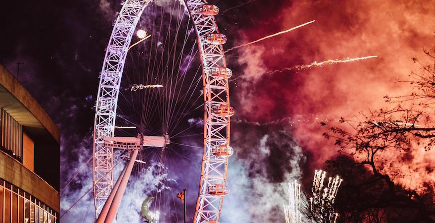 New years eve singles events london