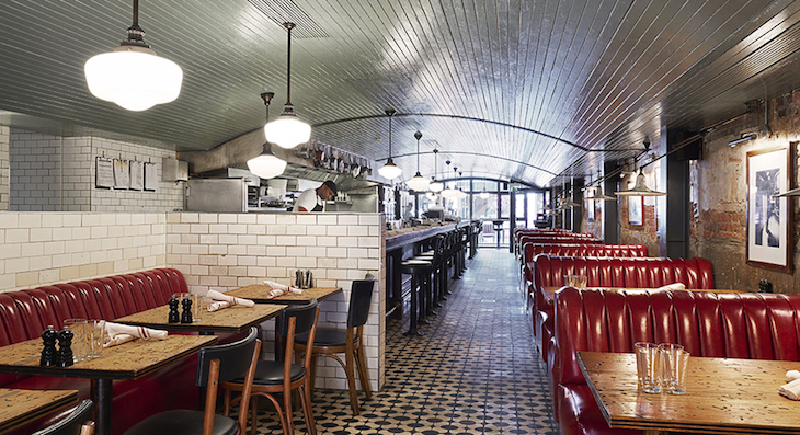 Electric Diner: Best American food and restaurants in London