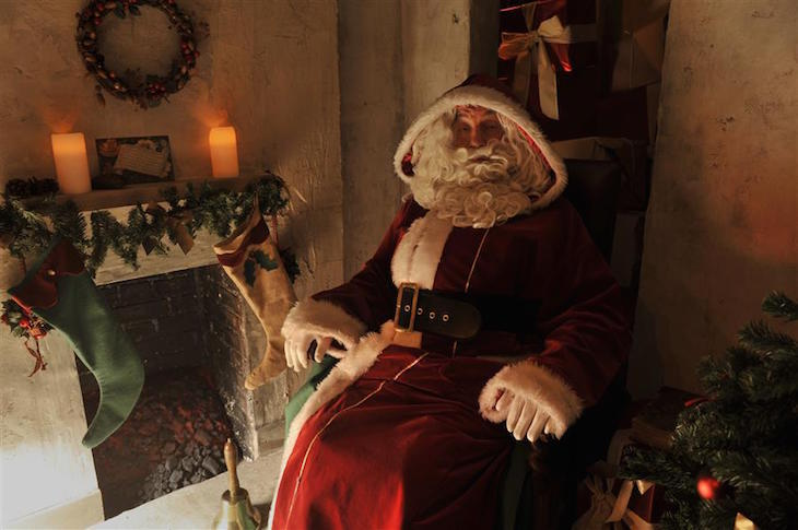 Santa's Victorian Grotto at Museum of London: Santa's Grottos in London, Christmas 2018