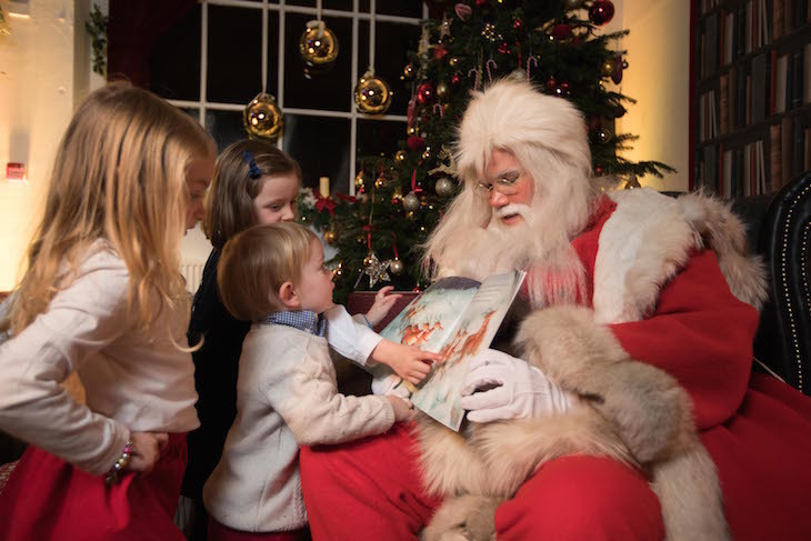 Storytime with Father Christmas in Belgravia: where to see Santa in Christmas this year