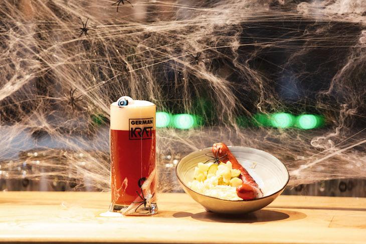 Halloween menu at German Kraft: Halloween 2018 food and drink in London